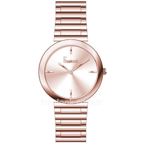 Freelook Rose Gold Bayan Saati F.4.1042.04