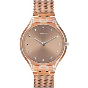 Swatch SVOK107M (Ø 37 MM) Rose Hasır Saat