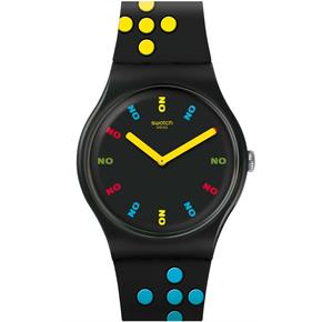 Swatch SUOZ302 DR NO 1962 JAMES BOND Kol Saati
