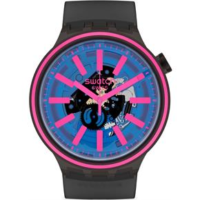 Swatch SO27B111 Big Bold Erkek Kol Saati