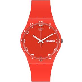 Swatch Gr713 OVER RED Kol Saati