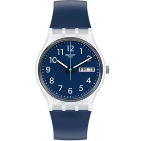 Swatch Ge725 RINSE REPEAT NAVY Kol Saati