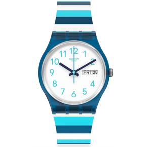 Swatch Gn728 STRIPED WAVES Kol Saati