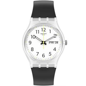 Swatch Ge726 RINSE REPEAT BLACK Kol Saati