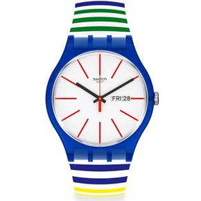 Swatch Suon715 HOME STRIPE HOME Kol Saati
